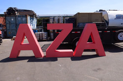 Large Stage Foam Letters