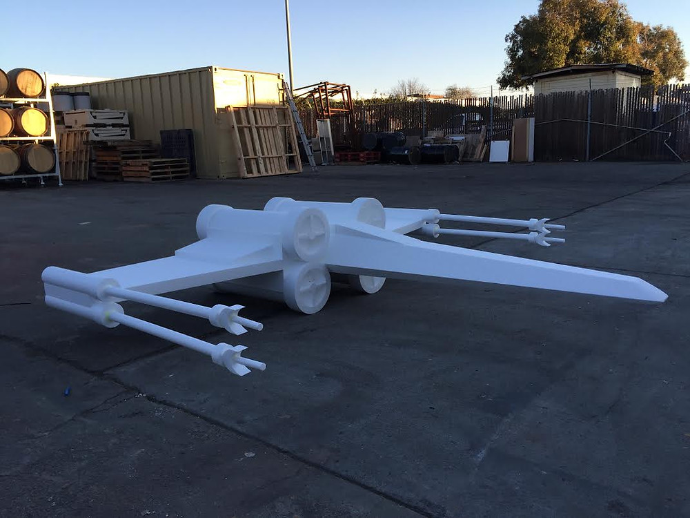 Star Wars X-Wing Prop Front View