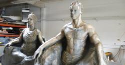 Wedding Foam Statues