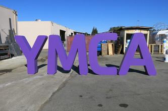 YMCA Oversized Sign