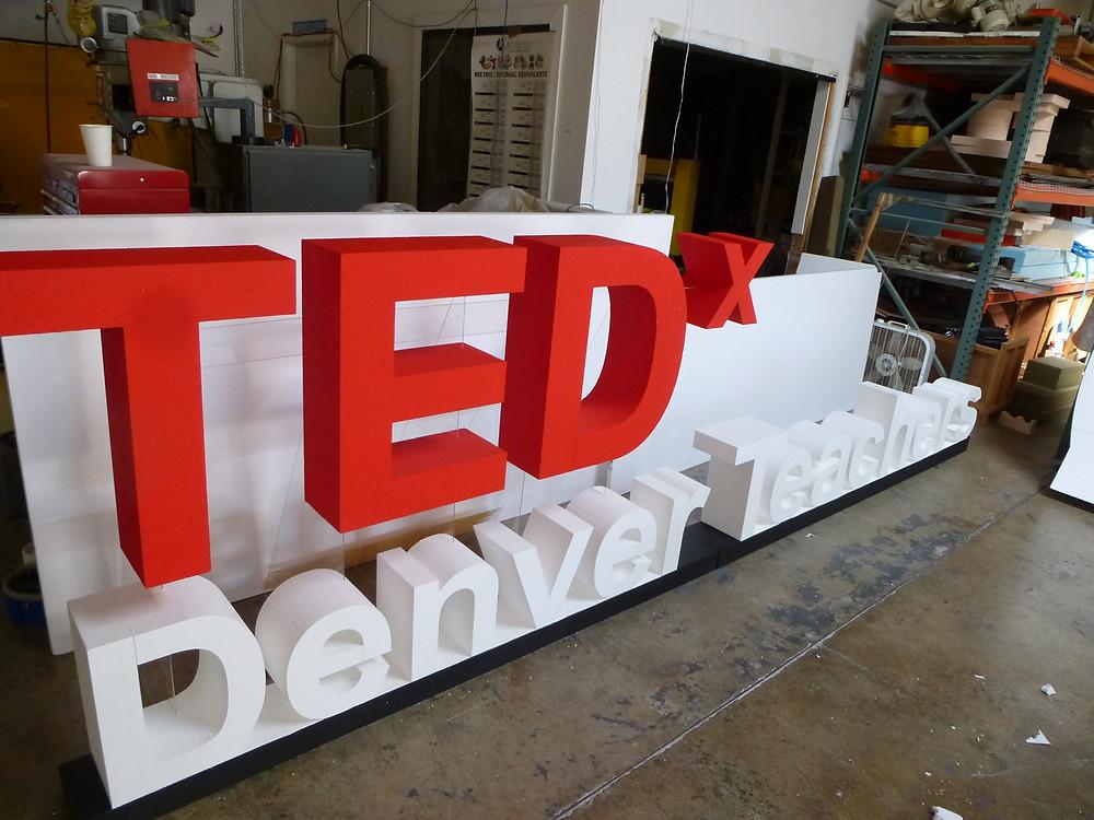 TEDx Denver Teachers Sign