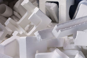 EPS loose styrofoam for foam recycling