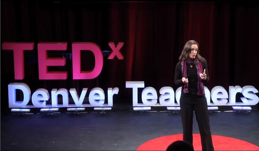 TEDx Denver Teachers Stage Letters