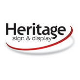 Heritage sign and display logo