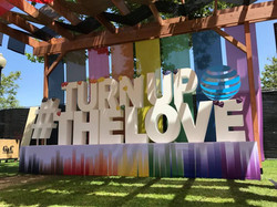 Turn Up The Love Sign