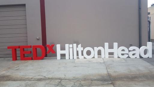 TEDx HiltonHead Stage Letters