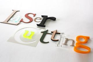 Acrylic laser cutting