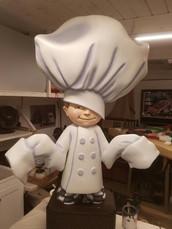 Chef Prop Exhibit