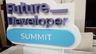 Future Developer Summit Sign