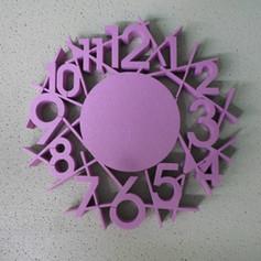 XPS Clock foam cut
