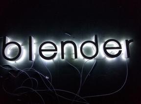 Beauty Blender Illuminated Sign