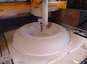 HDU Mold machining
