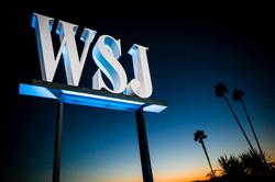 Wall Street Journal Sign
