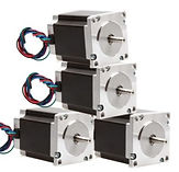 4 stepper motors foamlinx wecutfoam rcfo