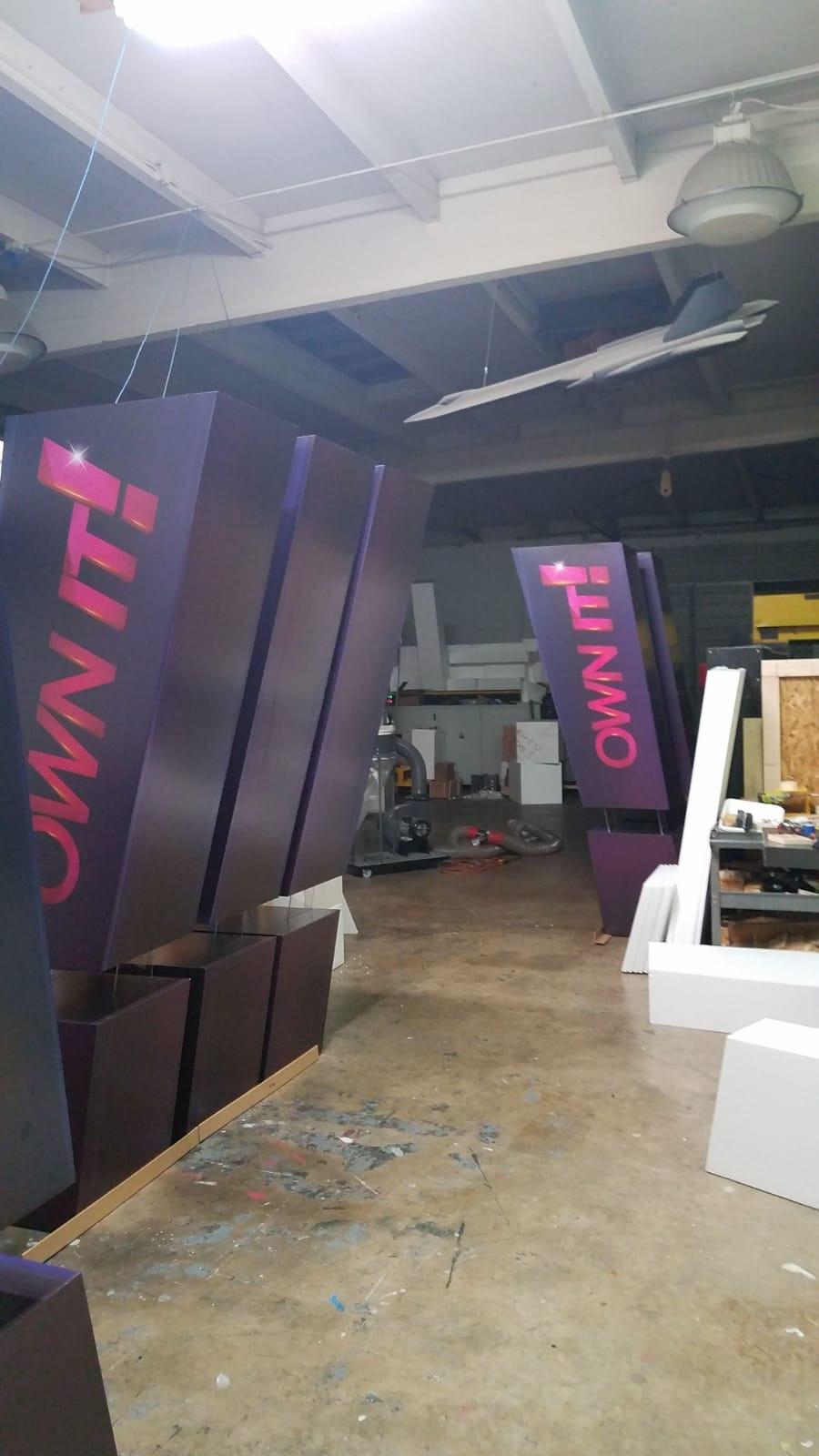 printing on foam logo