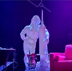 Marc Billet Sculpture by WeCutFoam