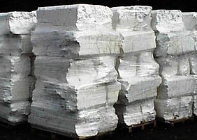 EPS Foam Compacted Logs