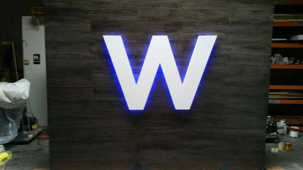 Illuminating LED Letter