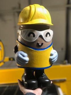 Figurine Prop for Ghirardelli Safety