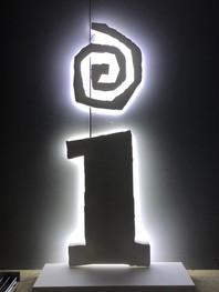 Illuminated Number Sign