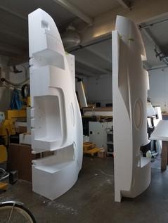 Large CNC machined Prototypes