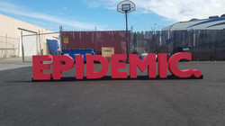 Large Stage Logo Sign