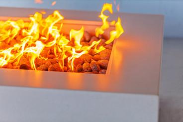 Custom Concrete Fire Pit