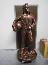 Evel Knievel Foam Sculpture