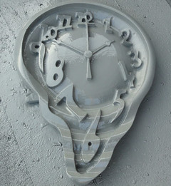 Hard coated clock prop