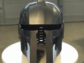 3D Printing Helmet Movie Prop
