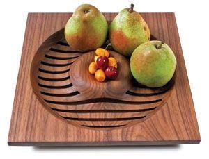 Fruit Bowl Wood Machining