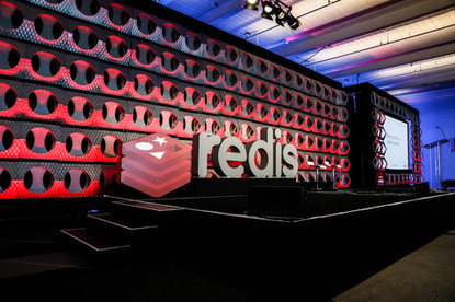redis letters and logo