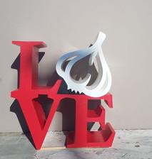 Garlic Love Sign
