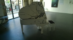Piano Design Collaboration Artiste