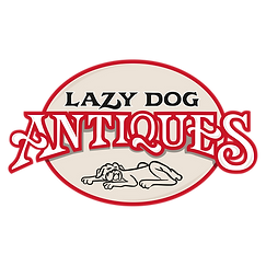 Lazy Dog Antique Store Logo