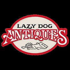 Lazy Dog Antique Store Logo