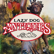 The Lazy Dog Antique Store Logo