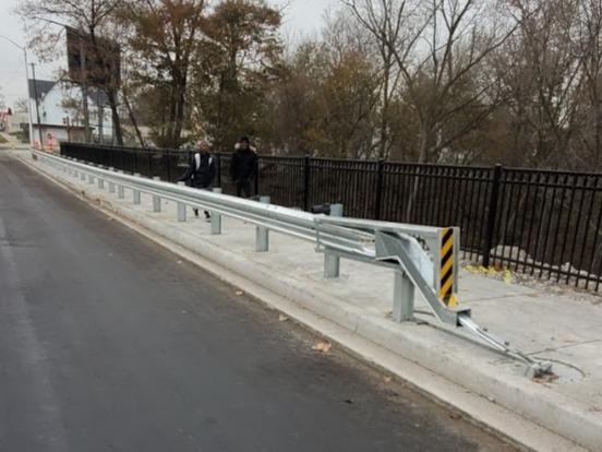 New Guardrail 2019 Install