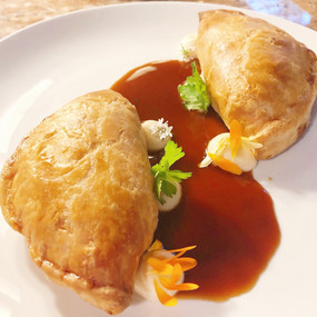 Duck Confit and Pumpkin Pastry