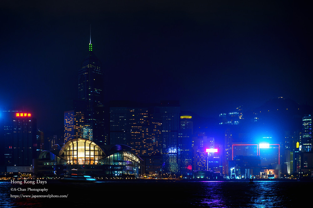 (3)深夜のビクトリアハーバー ©A-Chan Photography/ Eiichi Matsuyama