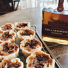 Whiskey Bacon Butter Tarts