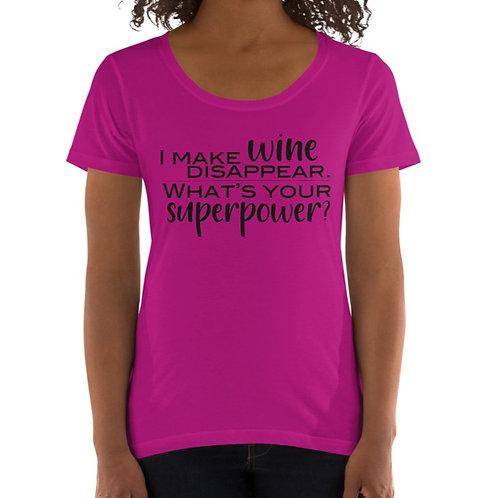 Superpower Ladies' Scoopneck T-Shirt