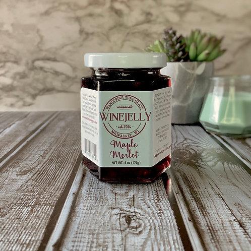 Maple Merlot Wine Jelly