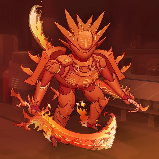Scorching Blademaster