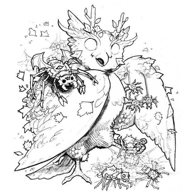 Inktober Sketch # 10