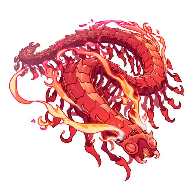 Fire Centipede