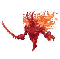 Bork, Flame Champion
