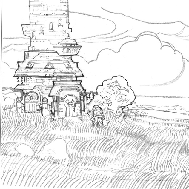 The Dark Tower Sketch