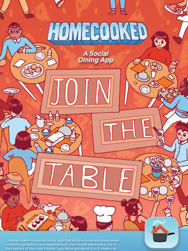 Homecooked Poster
