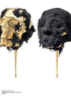 masque de jéricho, bronze, néodyme